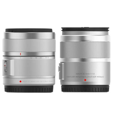 Xiaomi Yi M1 Mirrorless Digital Lens Silver xiaomi yi m1 mirrorless digital dual lens version silver specifications