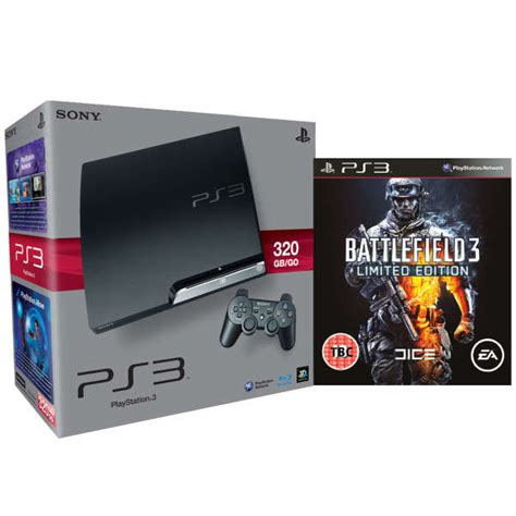 Ps 3 Slim 320gb Cfw 475 Limited Edition playstation 3 ps3 slim 320gb console bundle includes battlefield 3 limited edition