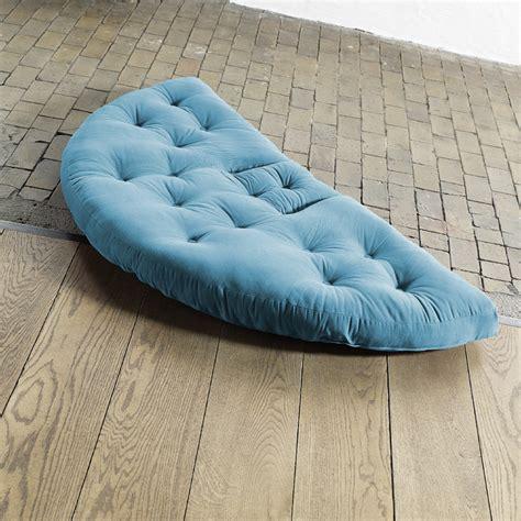 Fresh Futon Nest by Nest Small Futon In Horizon Blue By Jaxx Bean Bags