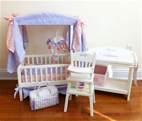 American Girl Bitty Baby Bitty Twin Crib Changing Table American Bitty Baby Crib