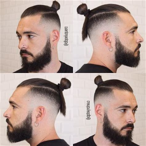 fadeout top knot mens fade haircuts 54 cool fade haircuts for men and boys