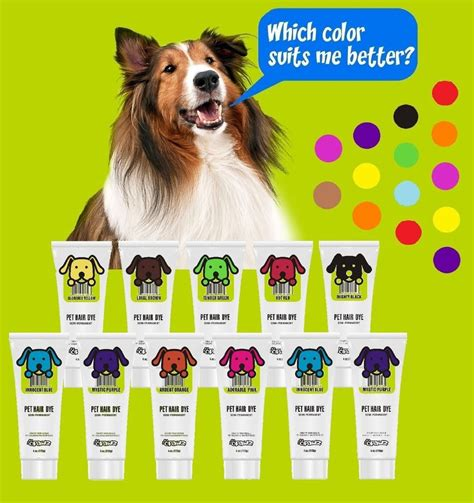 hair dye for dogs pet hair dye gel semi permanent completely non toxic and safe 4oz ebay
