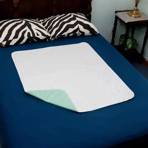 Mattress Protector Incontinence by Reusable Washable Incontinence Mattress Protector Pad