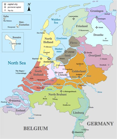 netherlands csite map map of the netherlands other maps
