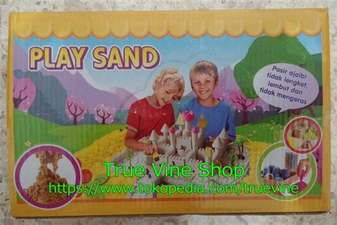 Mainan Pasir 3 Warna Plus 4 Cetakan Mainan Kado Edukatif Anak Murah jual pasir warna mainan anak mainan anak