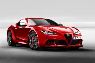 Alfa Romeo New Alfa Romeo 6c Will Aim To Topple The F Type Auto Express