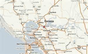 benicia california map benicia location guide