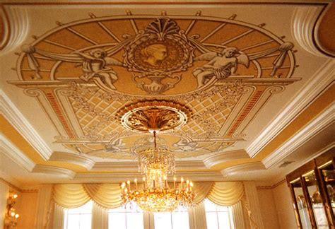 Murals Ceiling by Classic Murals Ceiling Decorations Trompe L Oeil