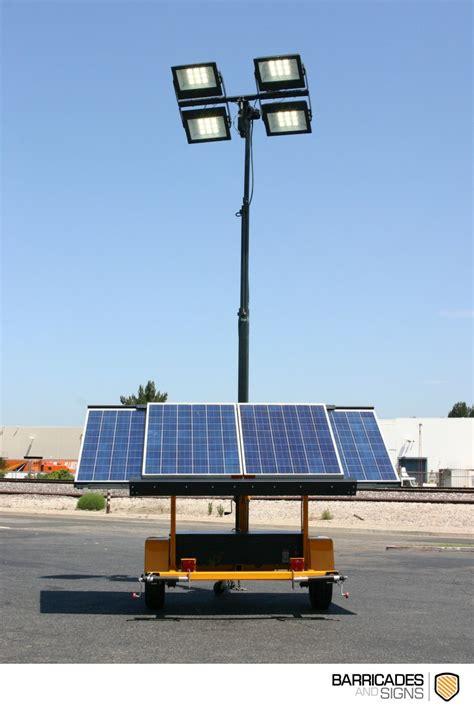 Solar Light Towers Solar Powered Light Tower
