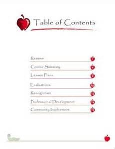 Professional portfolio samples for teachers sample portfolio more