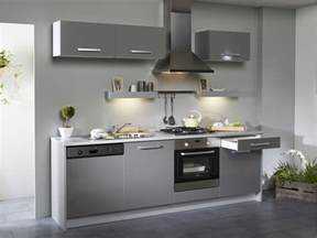 cuisine blanche et grise pas cher sur cuisine lareduc