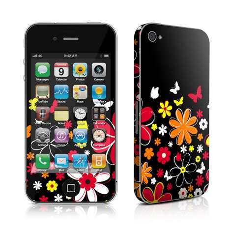 Skin Your Iphone With Decalgirl by Iphone 4 Skin Laurie S Garden Decalgirl