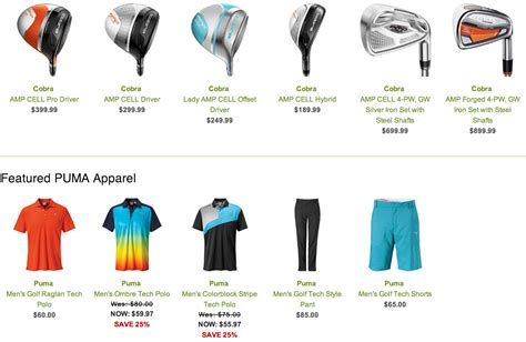 Where Can I Use Golfsmith Gift Card - free golfsmith gift card with qualifying puma or cobra purchase yay for dad