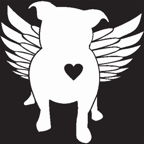 Vinal Wall Stickers bully chick featuring a american bully pitbull breed dog