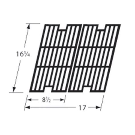 Backyard Grill Brand Replacement Parts Heavy Duty Bbq Parts 69972 Matte Cast Iron Cooking Grid For Backyard Grill Brand Gas Grills