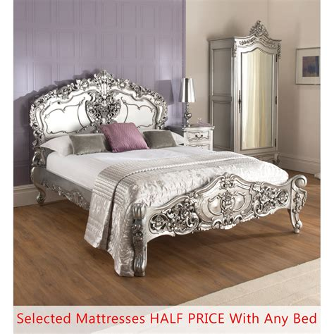rococo bedroom furniture uk antique french bed bundle deal half price mattress deal
