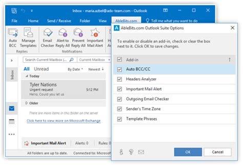 outlook workflow add in excel add ins and outlook tools ablebits