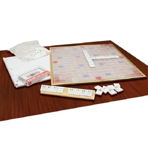 braille scrabble deluxe braille scrabble set