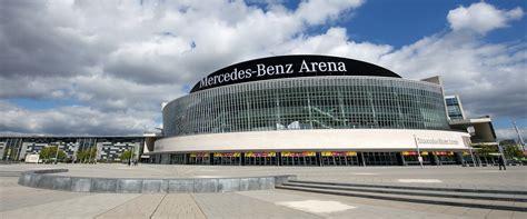 mercedes aren veranstaltungen mercedes arena berlin auto bild idee