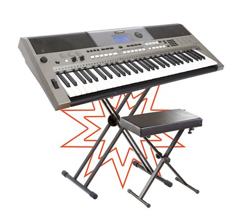 Piano Stand And Stool by Musicworks Portable Keyboards Home Keyboards Home