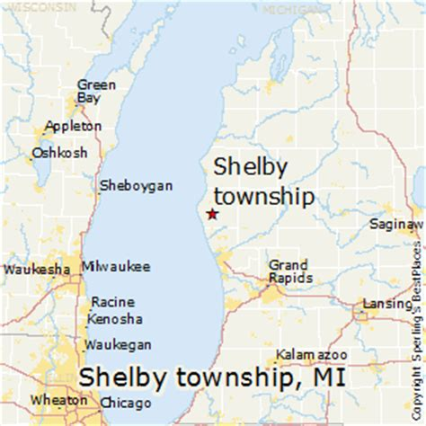 shelby township mi map shelby mi pictures posters news and on your