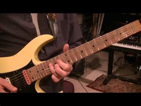 tutorial gitar cannon rock how to play christmas canon rock by trans siberian