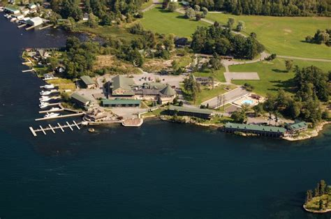 public boat launch alexandria bay ny upstate aerial photography residential and commercial