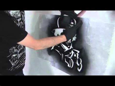 how to make a stencil template how to create a graffiti stencil