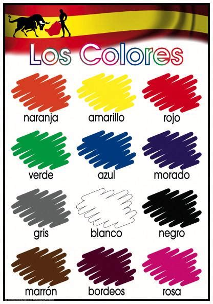 spanish colors how to say yellow in spanish spanish colours blackboard jungle