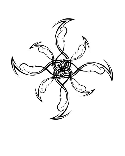 tribal snowflake tattoos search results for snowflake calendar 2015