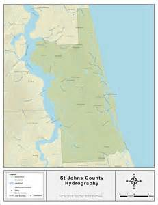 st johns florida map st johns county florida map pictures to pin on