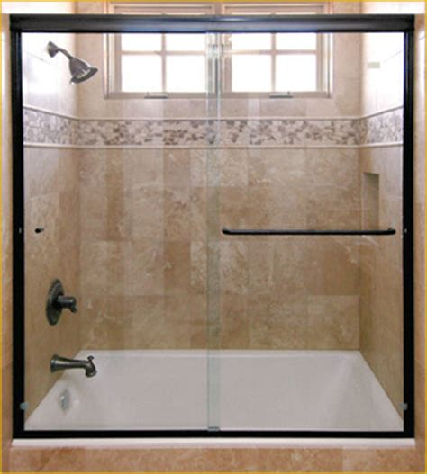 sliding glass shower tub doors shower door sliding enclosures martin shower door