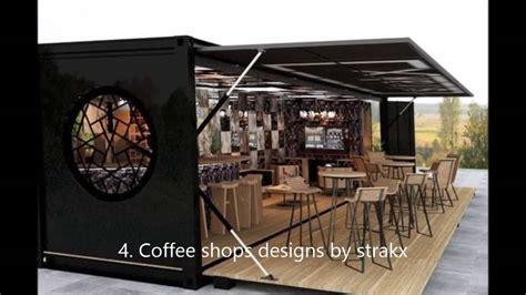 shipping container coffee shop cafe bar  restaurant