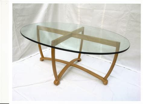 Coffee Table Glass Top Oval Glass Top Coffee Table