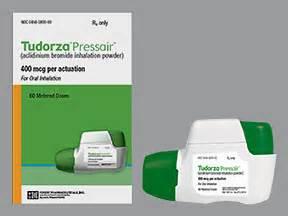 Tudorza pressair inhalation