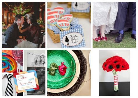 wizard of oz themed wedding inspiration afloral wedding