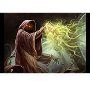 Fantasy Dark Wizard Revis  2D Digital Concept Art