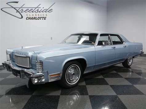 1974 lincoln continental for sale lincoln continental 460 v8 1974 sedan sold classicdigest