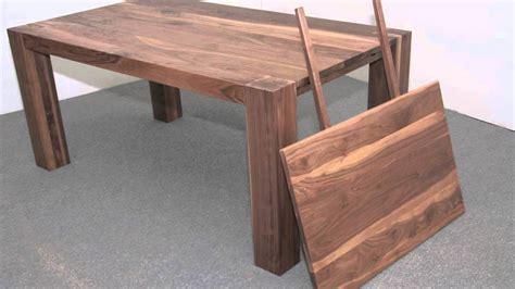 Massivholztisch Selber Bauen by Www Mass Tisch Ma 223 Tisch Mit Ansteckplatten