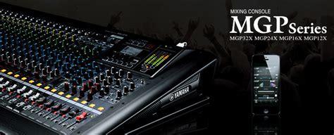 Mixer Yamaha Mgp Series yamaha mgp12x 12 channel premium mixing console black lazada malaysia