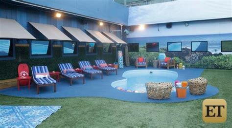 house with a big backyard big brother 17 house backyard pool big brother network
