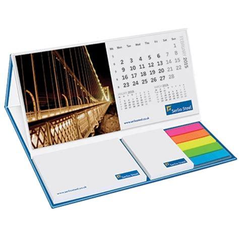 sticky note desk calendar foldable desk set uk corporate gifts
