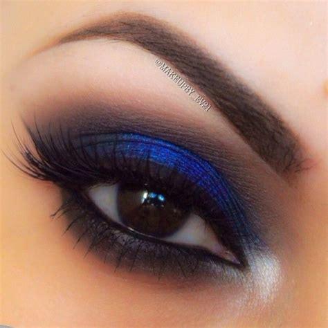 Eyeshadow E best 25 blue smokey eye ideas on navy eye