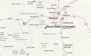 mount bailey colorado mountain information