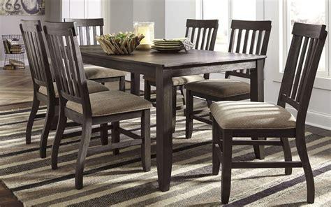 rectangular dining room sets dresbar grayish brown rectangular dining room set from