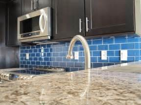 kitchen backsplash blue how to install a glass tile backsplash armchair builder