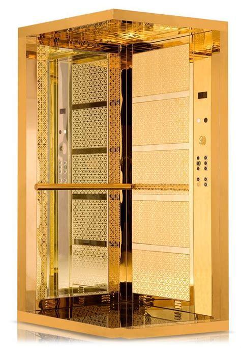 elevator cabin gold asans 246 r kabini gold kabin modeli