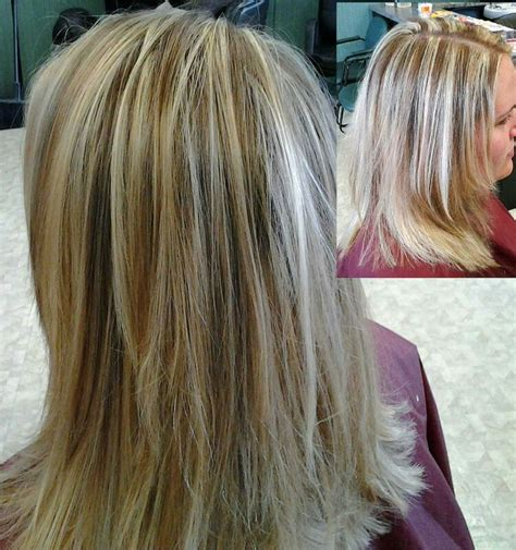 images of blond hair with hilites weaved into it weave highlights fine weave caramel highlights
