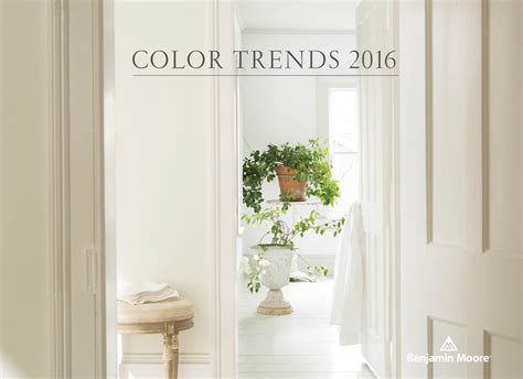 benjamin color trends 2016 fashion trendsetter