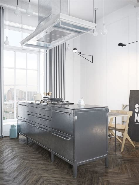 scandinavian design key elements scandinavian apartment jazzed up by industrial design